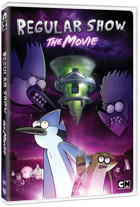 RegularShowTheMovie 3D DVD copy