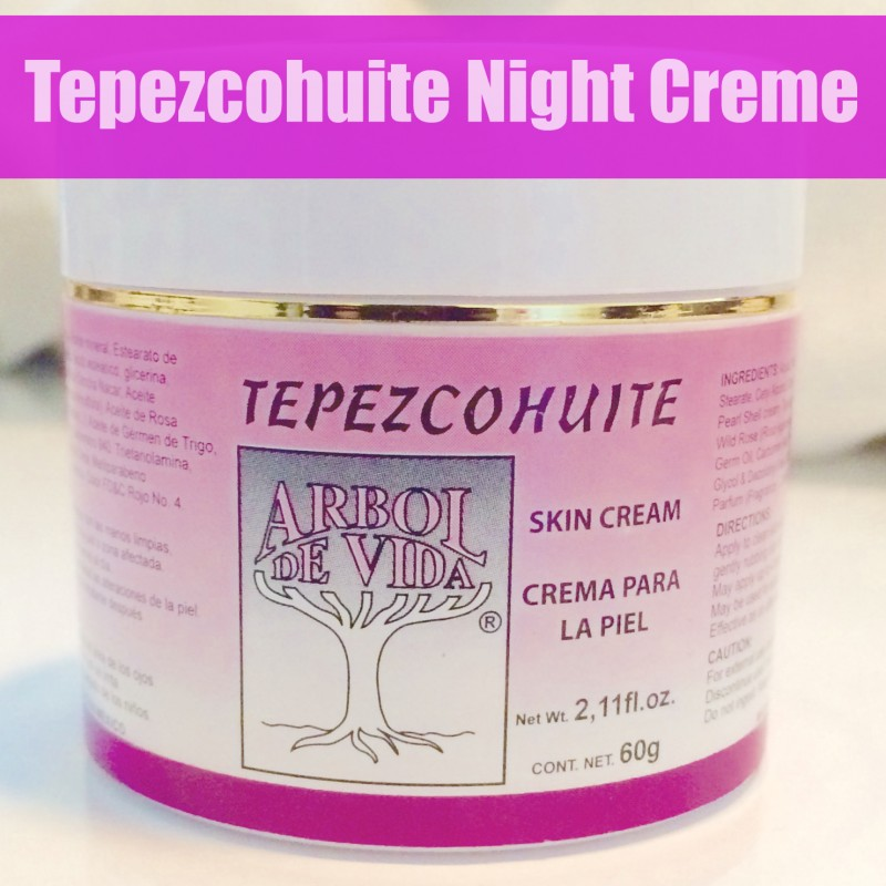 Tepezcohuite Night Creme