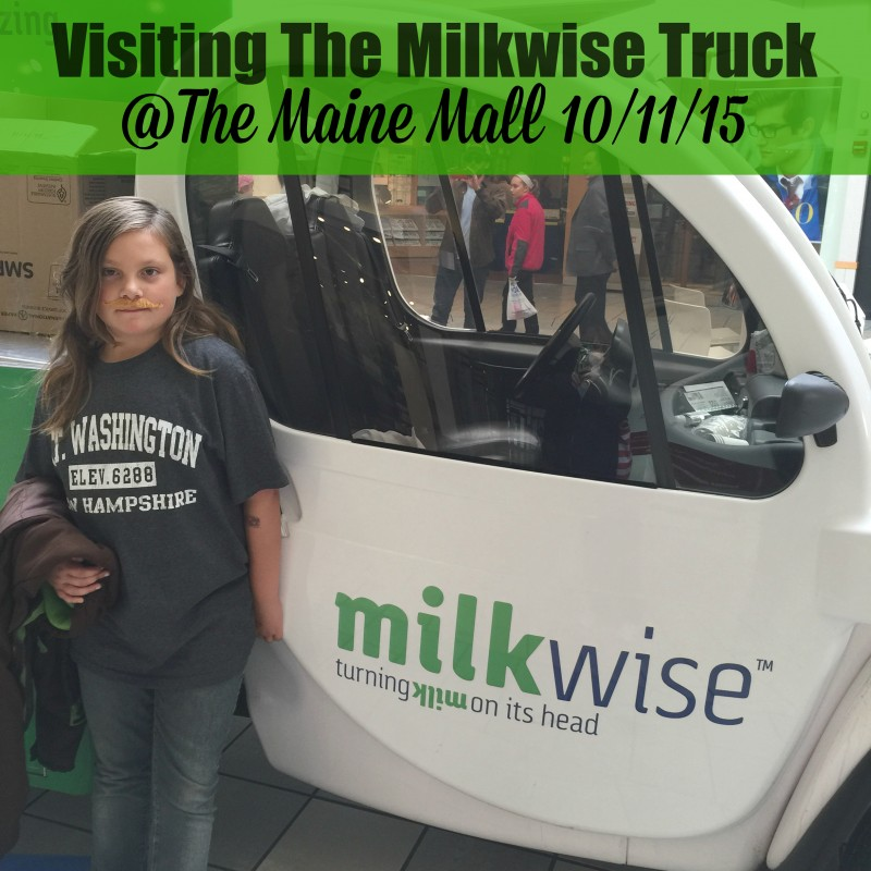 Visiting the Milkwise truck