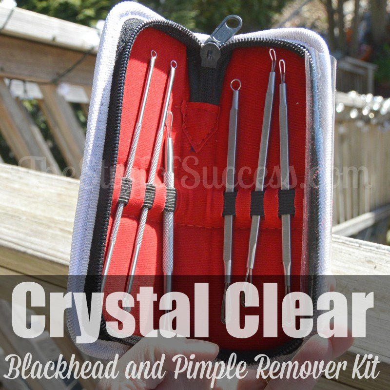 Crystal Clear Blackhead and Pimple Remover Kit