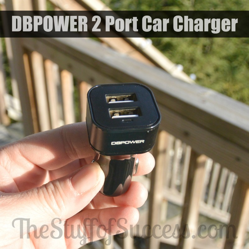 DBPOWER 2 Port Car Charger