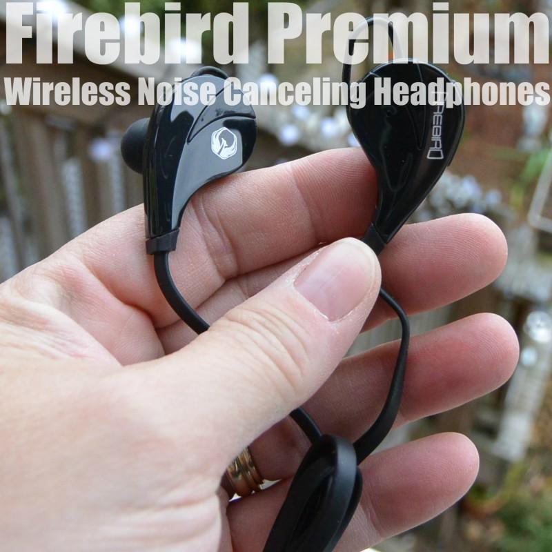 Firebird Premium Wireless Noise Canceling Headphones