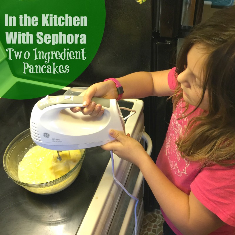 In the kitchen with Sephora - Two Ingredient Pancakes