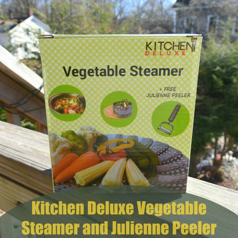 Kitchen Deluxe Vegetable Steamer + Julienne Peeler