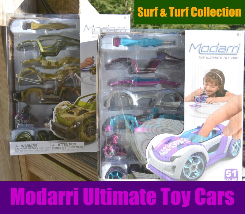 Modarri Ultimate Toy Cars - Surf and Turf Collection