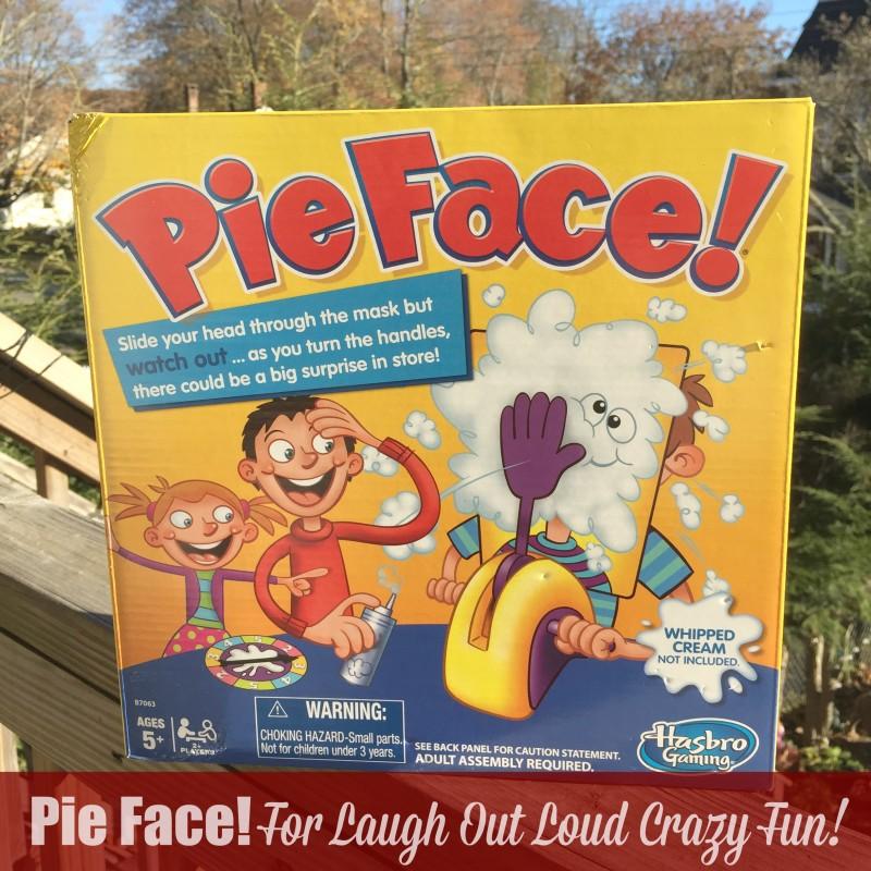 Pie Face For Laugh Out Loud Crazy Fun
