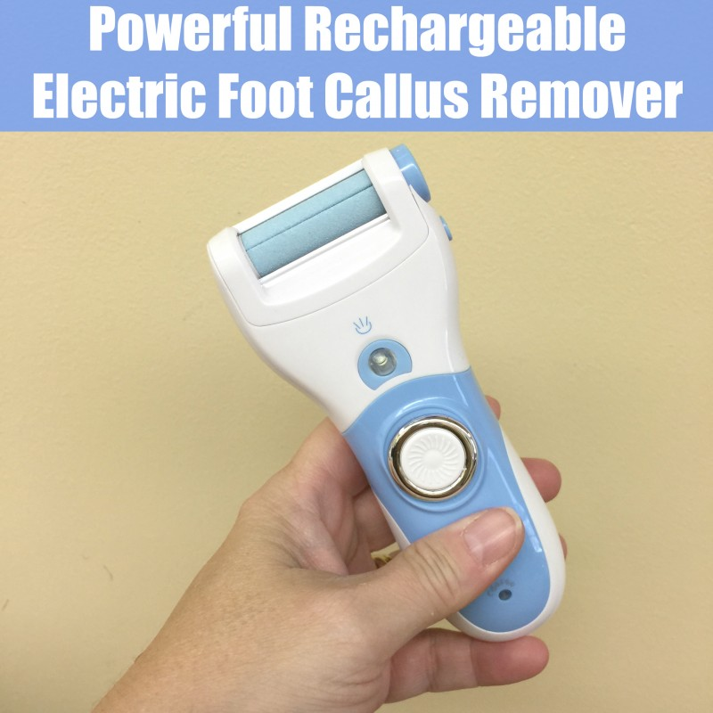 Powerful Rechargeable Electric Foot Callus Remover