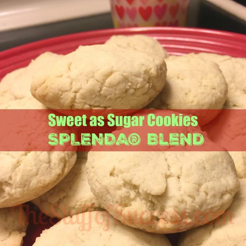 Sweet as Sugar Cookies With SPLENDA® Blend