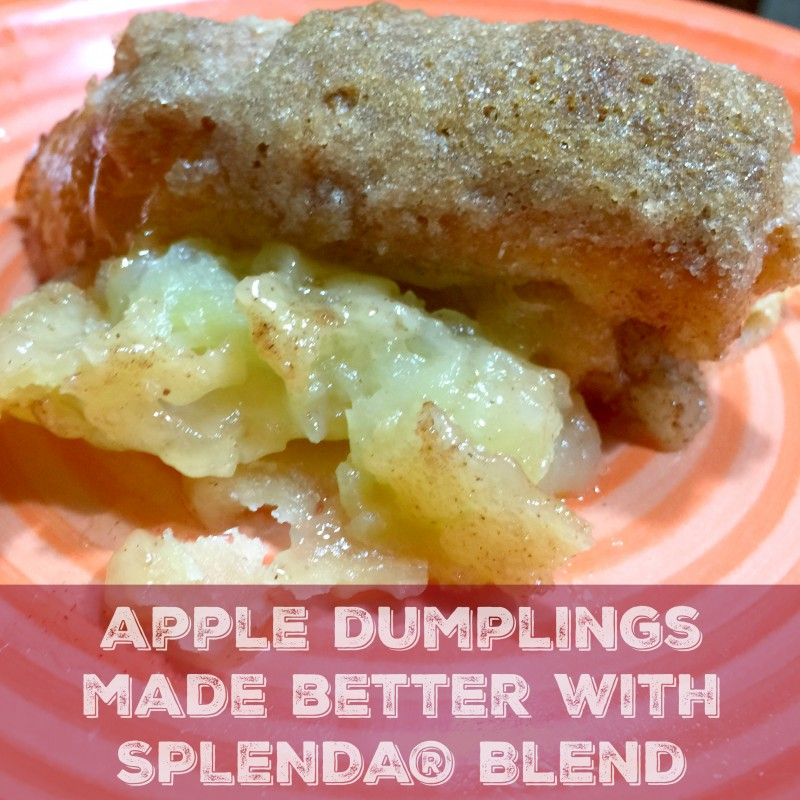 apple dumplings made better with SPLENDA® Blend