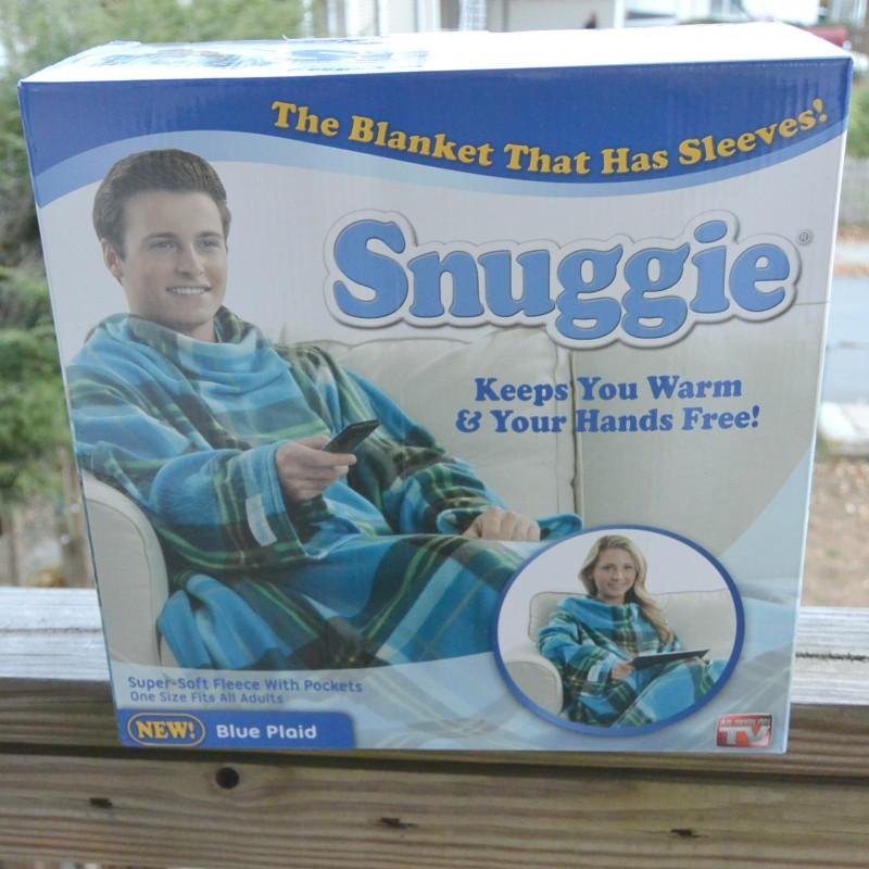 Snuggie to keep you warm