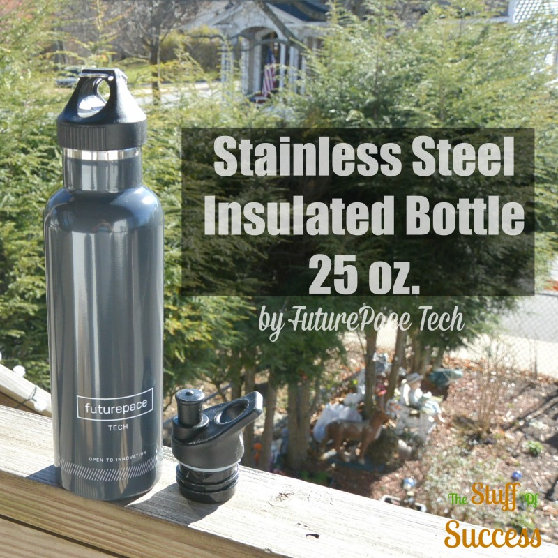 Stainless Steel Insulated Bottle 25 ounces by FuturePace Tech