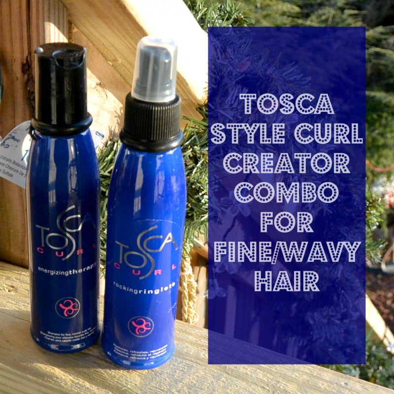 Tosca Style Curl Creator Combo for FINEWAVY hair