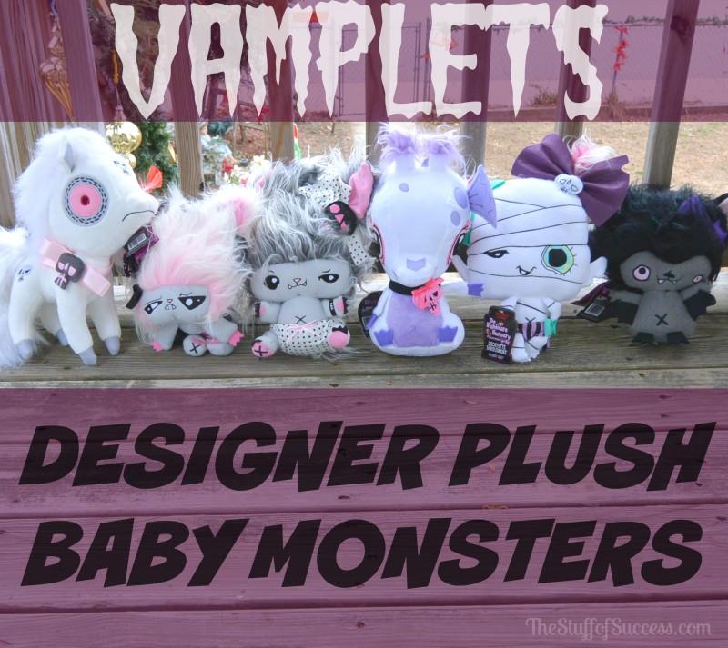 Vamplets Designer Plush Baby Monsters