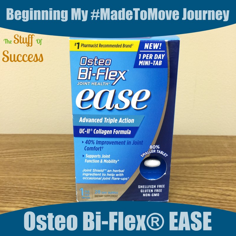 Beginning My #MadeToMove Journey With Osteo Bi-Flex® EASE