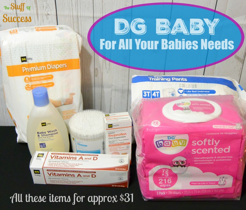 Dollar General (DG Baby) For All Your Babies Needs @DollarGeneral #ad