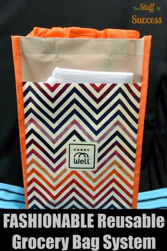 FASHIONABLE Reusable Grocery Bag System