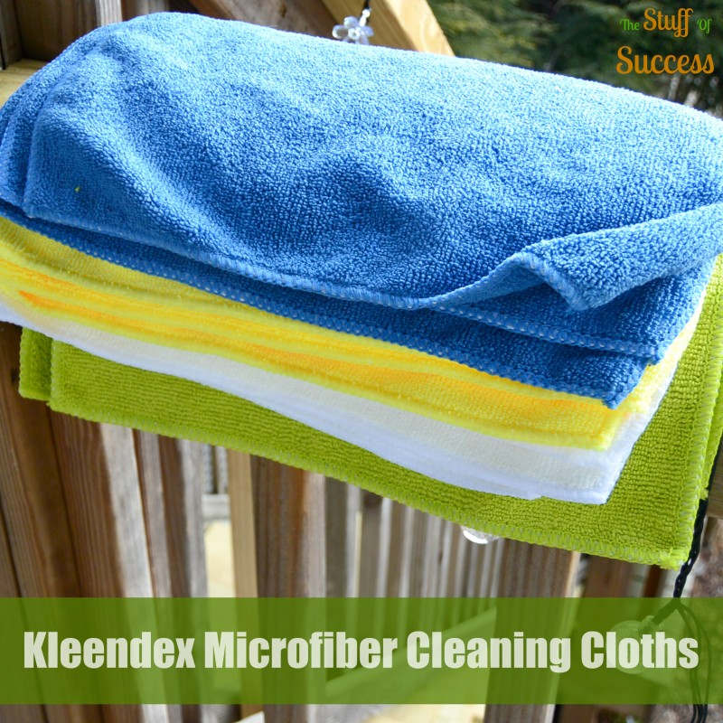 Kleendex Microfiber Cleaning Cloths