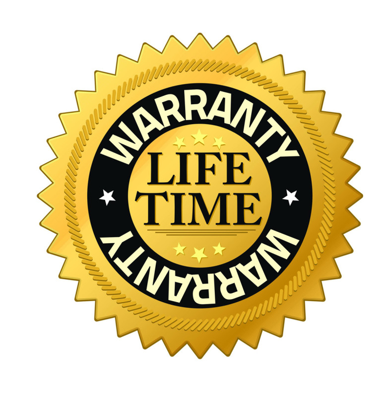 Lifetime Warraty