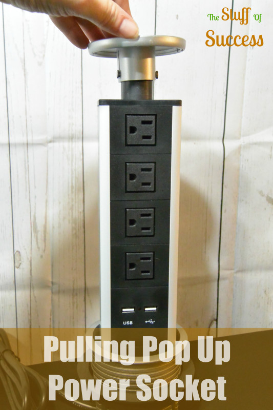 Pulling Pop Up Power Socket