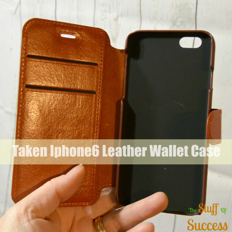 Taken Iphone6 Leather Wallet Case