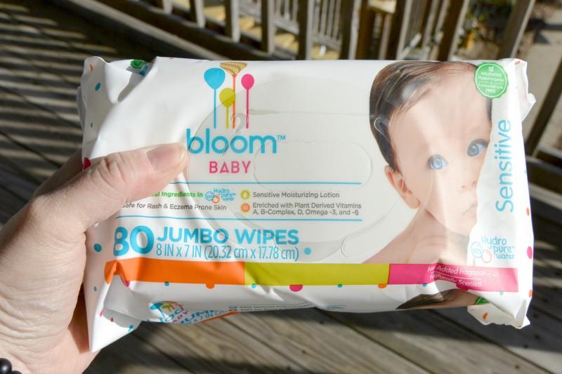 Bloom Baby Jumbo Wipes Package