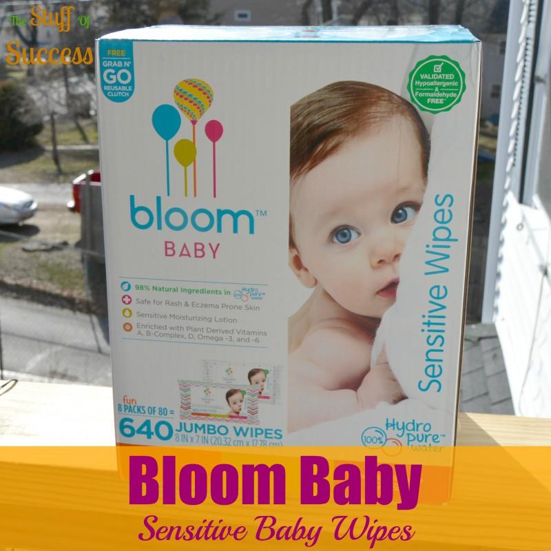 Bloom Baby Sensitive Baby Wipes