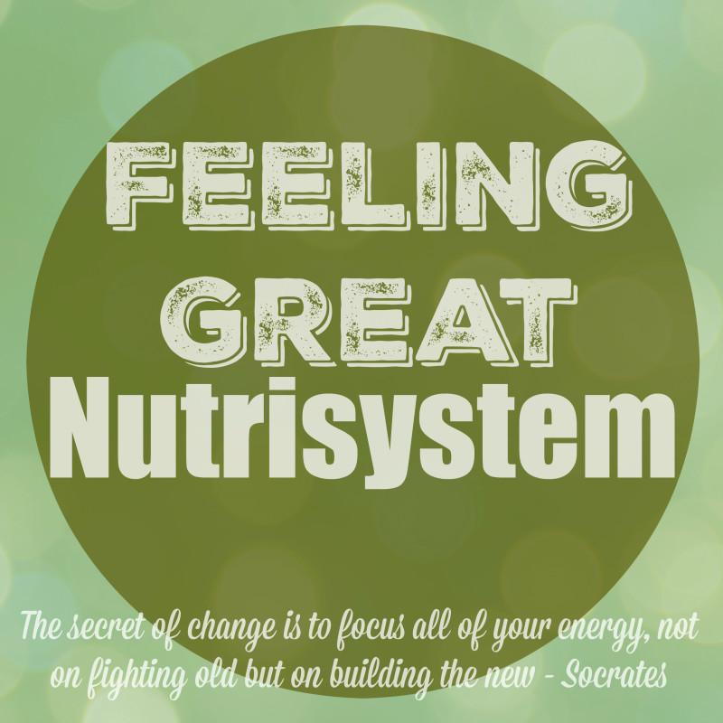 Feeling Great Nutrisystem