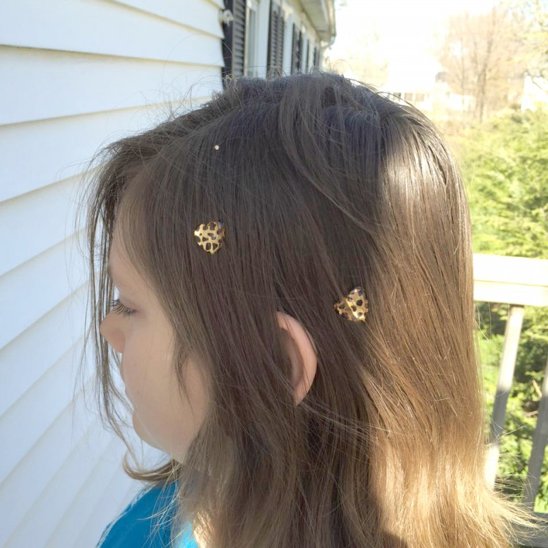 Hair Bling Glitzies Side View