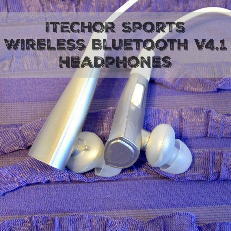 ITECHOR Sports Wireless Bluetooth V4.1 Headphones