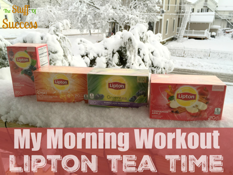 My Morning Workout Lipton Tea Time