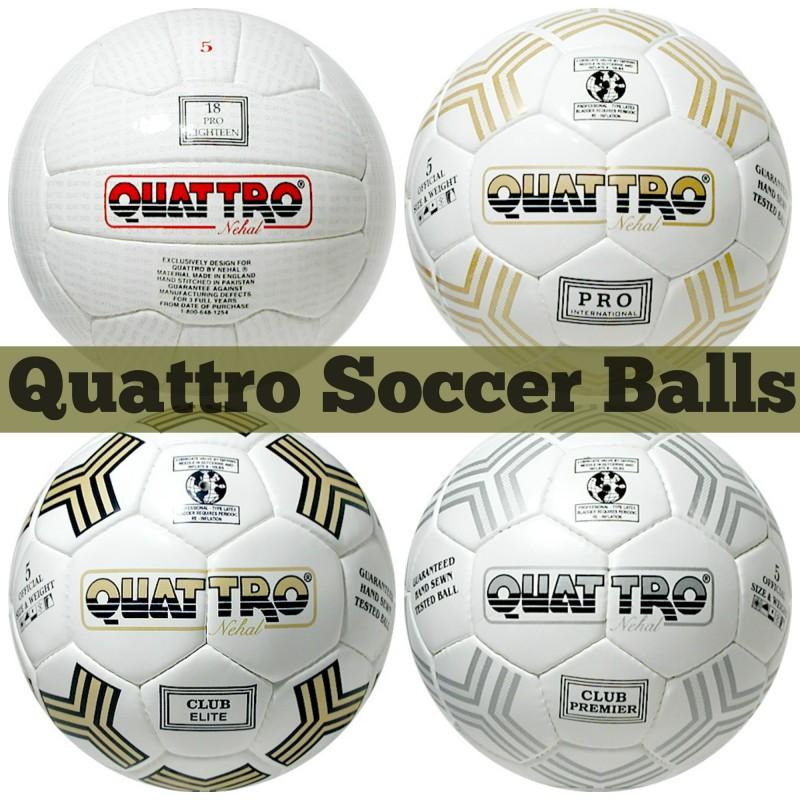 Quattro Soccer Balls