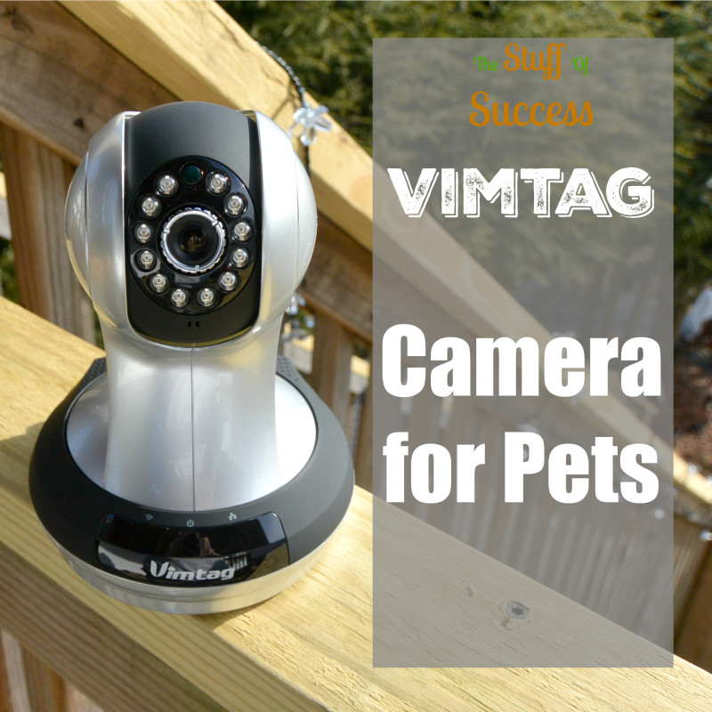 Vimtag Camera for Pets