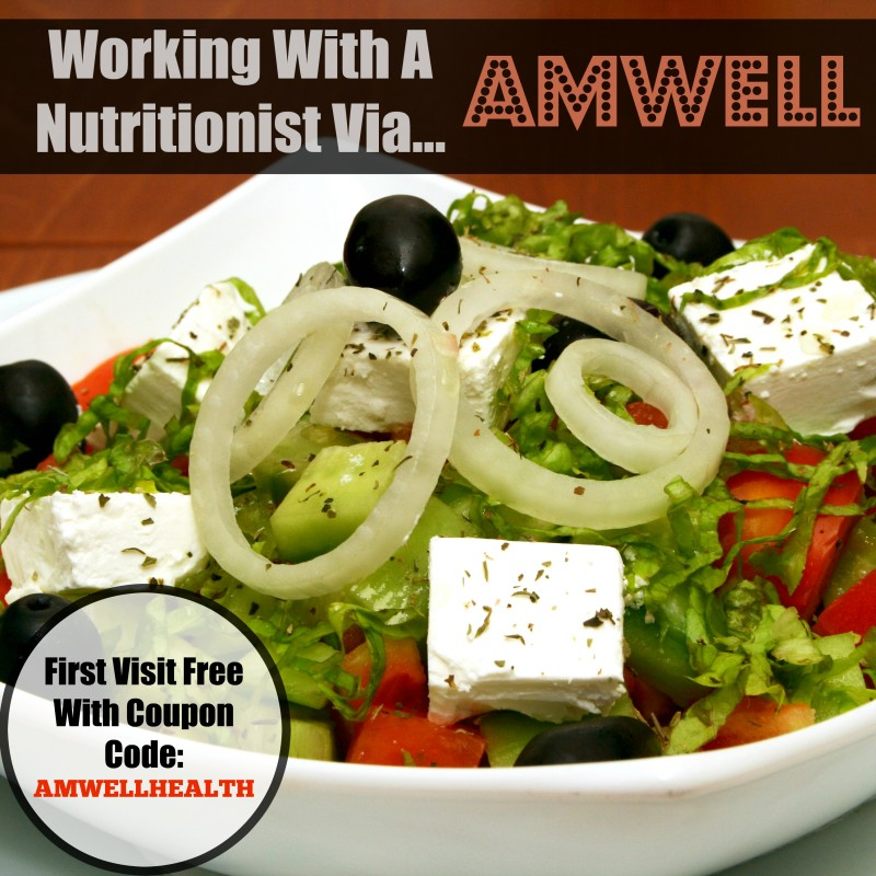 Working With A Nutritionist Via Amwell