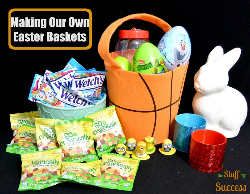 Making Our Own Easter Baskets
