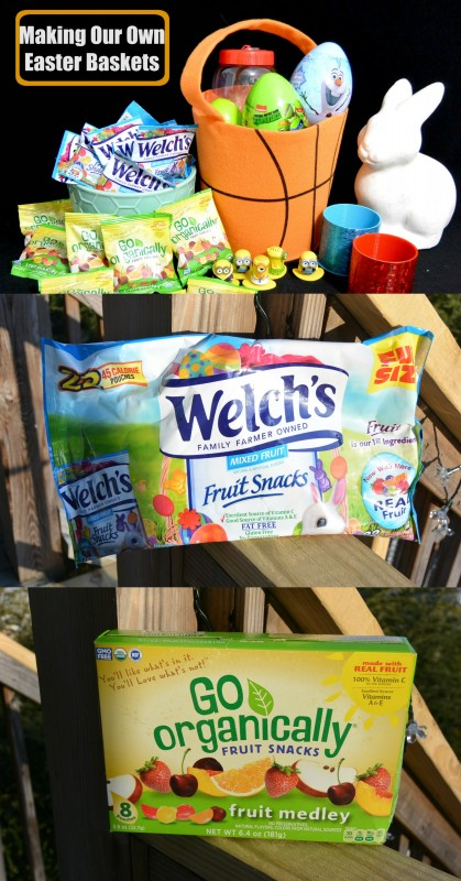 Making Our Own Easter Baskets With Welchs and Go Organically