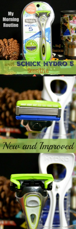 My Morning Routine With Schick Hydro 5 Sensitive What's New