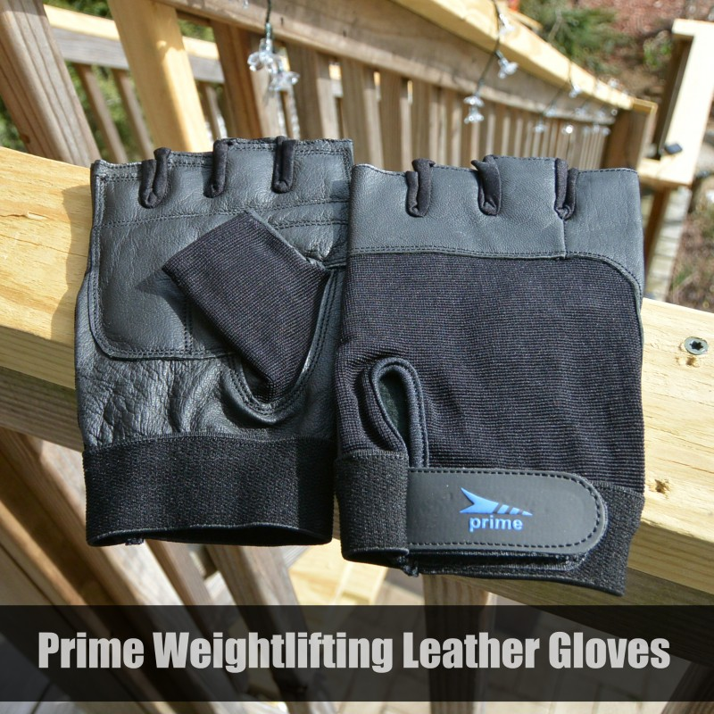 Prime Weightlifting Leather Gloves