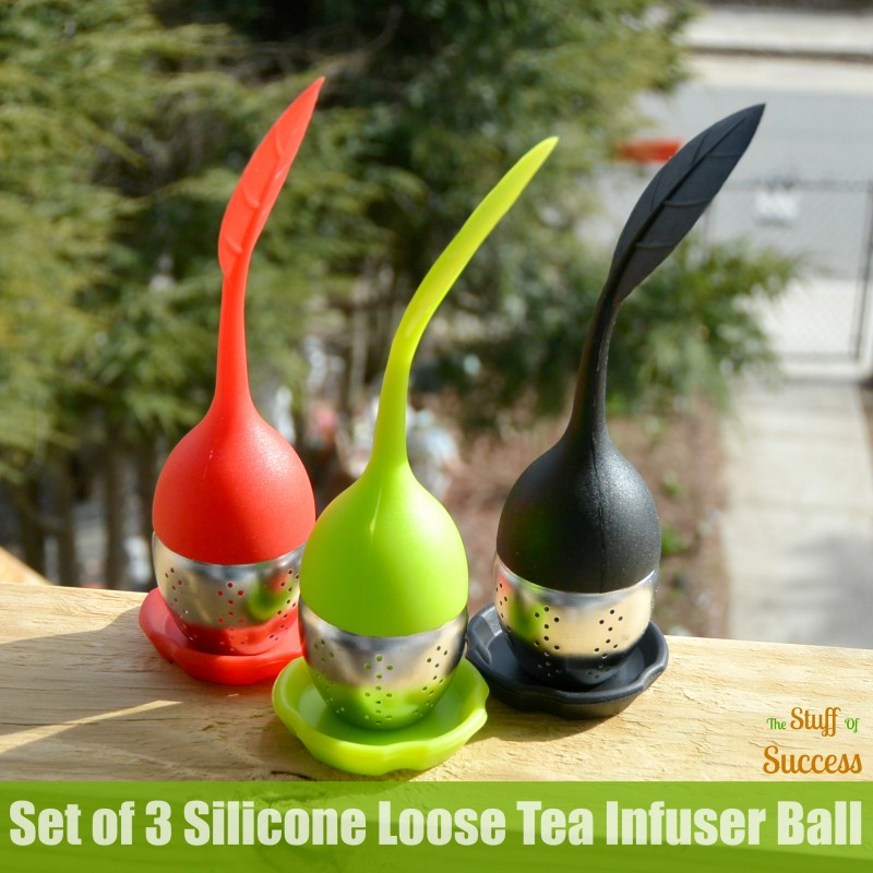 Set of 3 Silicone Loose Tea Infuser Ball