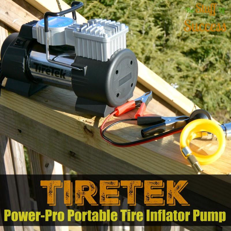 TireTek Power-Pro Portable Tire Inflator Pump