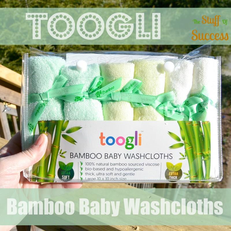 Toogli Bamboo Baby Washcloths