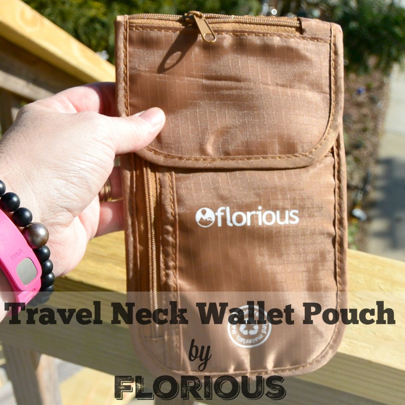 Travel Neck Wallet Pouch by Florious