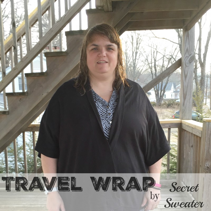 Travel Wrap by Secrety Sweater