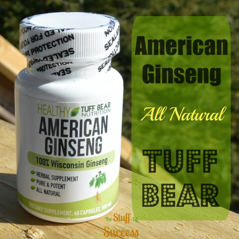Tuff Bear All Natural American Ginseng