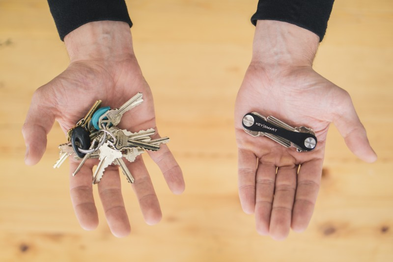Product Photography of KeySmart taken at Studio on April 07, 2014.