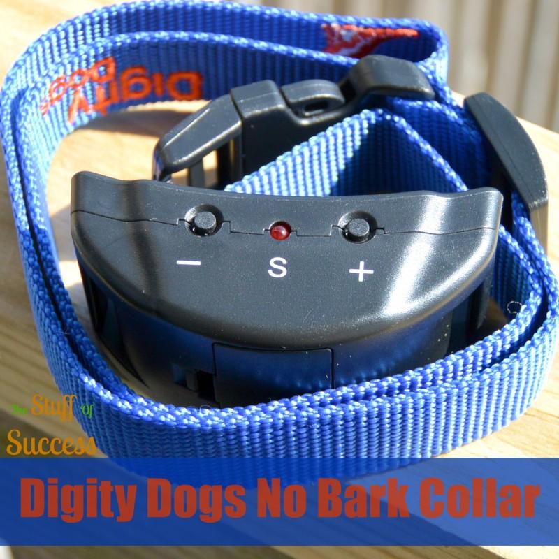 Digity Dogs No Bark Collar