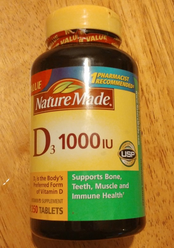 NatureMade D3 1000