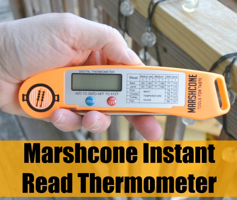 Marshcone Instant Read Thermometer