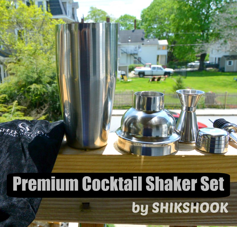 Premium Cocktail Shaker Set by SHIKSHOOK