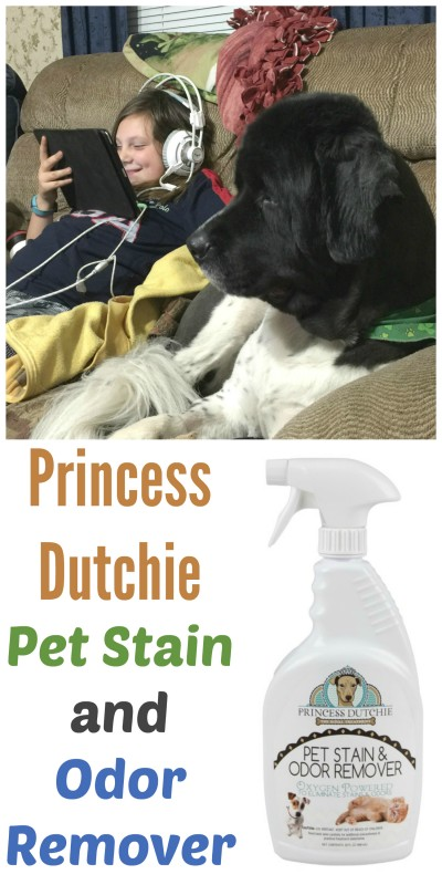 Princess Dutchie Pet Stain and Odor Remover