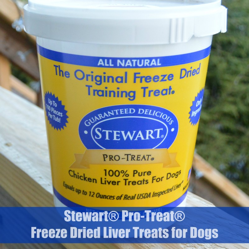 Stewart® Pro-Treat® Freeze Dried Liver Treats for Dogs